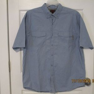 Wolverine mens button down outdoor shirt S/S